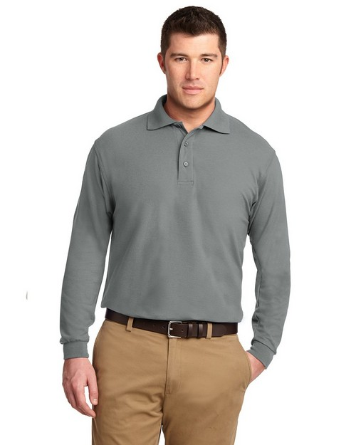 Port Authority TLK500LS Tall Silk Touch Polo