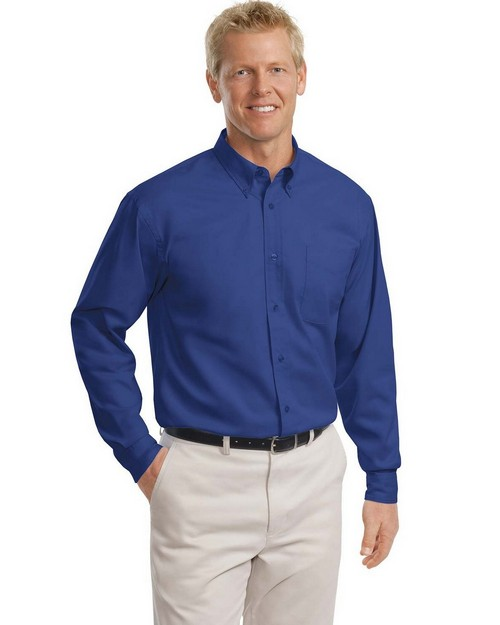 Port Authority TLS608 Tall Long Sleeve Easy Care Shirt