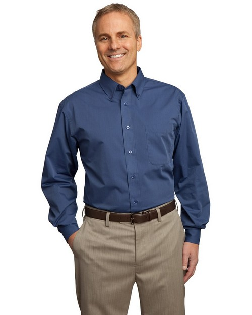 Port Authority TLS613 Tall Tonal Pattern Easy Care Shirt