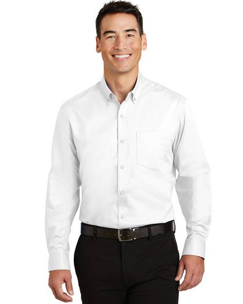 Port Authority TS663 Mens Tall SuperPro Twill Shirt