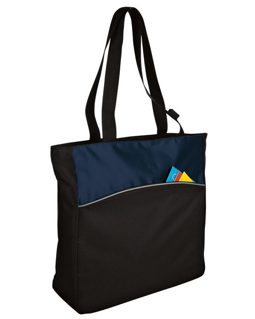 Port Authority B1510 Improved Two Tone Colorblock Tote