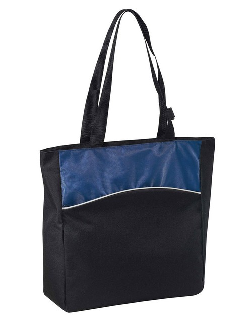 Port & Company B151 Two-Tone Colorblock Tote