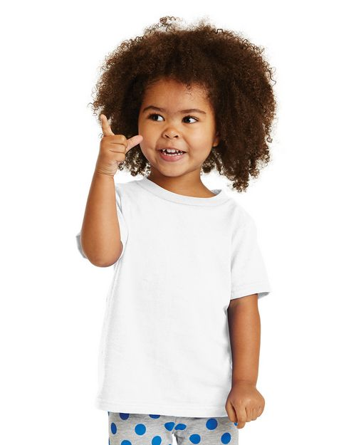 Port & Company CAR54T Toddler 5.4-oz 100% Cotton T-Shirt