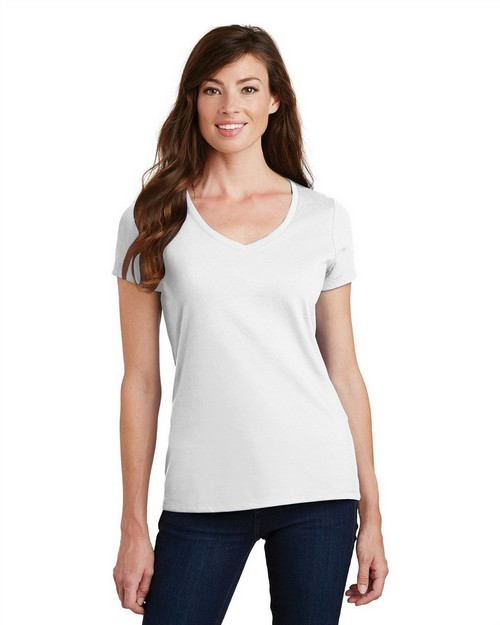 Port & Company LPC450V Ladies Fan Favorite V-Neck Tee