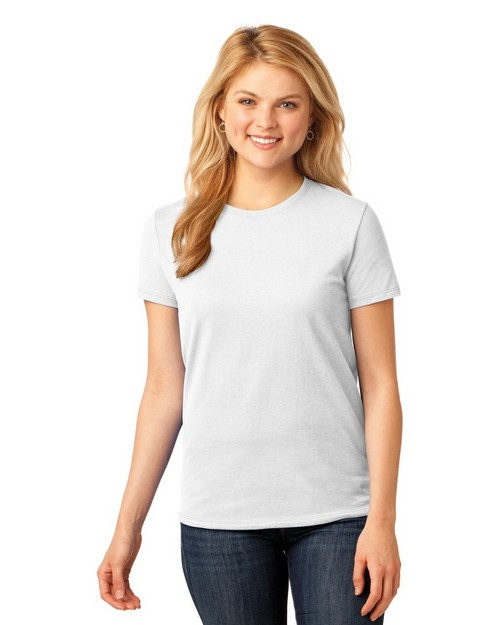 Port & Company LPC54 by Port Authority Ladies 5.4-oz 100% Cotton T Shirt