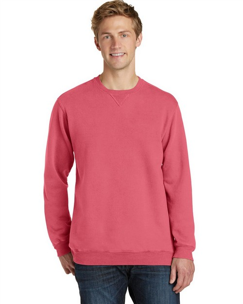 Port & Company PC098 Essential Pigment-Dyed Crewneck Sweatshirt