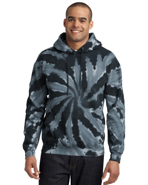 Port & Company PC146 by Port Authority Essential Tie-Dye Pullover Hooded Sweatshirt
