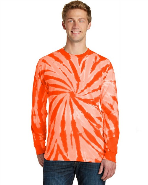 Port & Company PC147LS Essential Tie-Dye Long Sleeve Tee