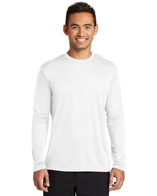 Port & Company PC380LS Mens Long Sleeve Performance T-Shirt