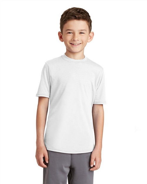 Port & Company PC381Y Youth Essential Blended Performance Tee