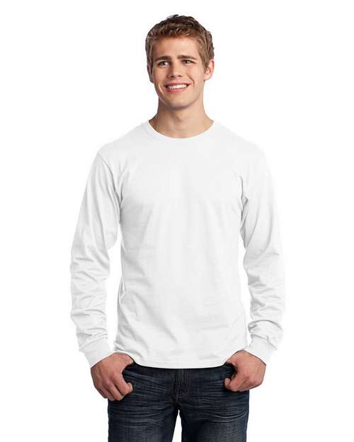 Port & Company PC54LS Long-Sleeve 5.4-oz. 100% Cotton T-Shirt