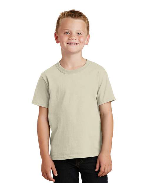 Port & Company PC54Y Youth 5.4-oz 100% Cotton T Shirt