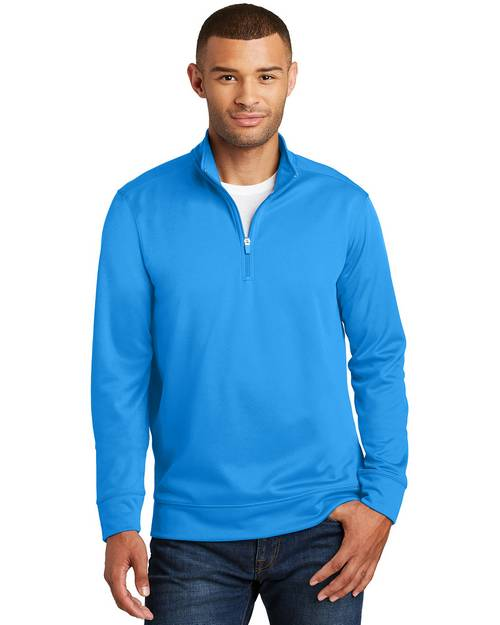 Port & Company PC590Q Mens Performance Fleece 1/4 Zip Pullover Sweatshirt