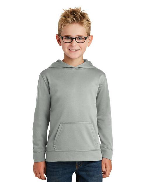 Port & Company PC590YH Youth Performance Fleece Pullover Hooded Sweatshirt