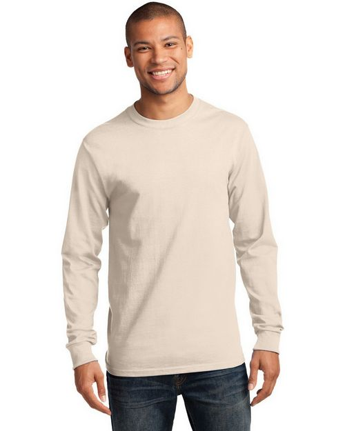 Port & Company PC61LS Long Sleeve Essential T-Shirt
