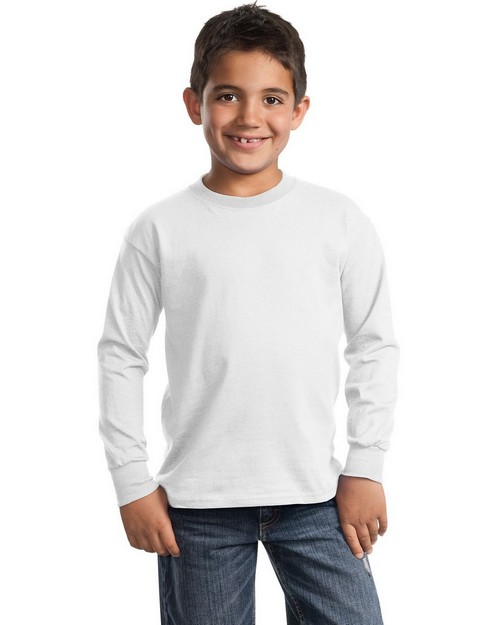 Port & Company PC61YLS Youth Long-Sleeve Essential T-Shirt