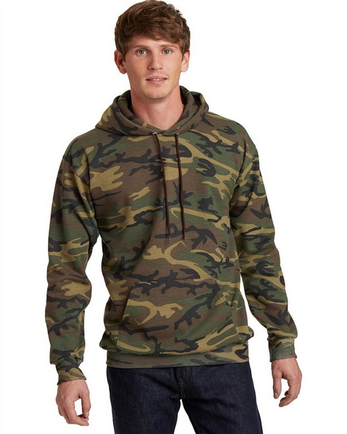 Port & Company PC78HC Classic Camo Pullover Hooded Sweatshirt