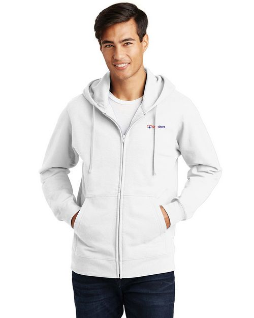 Port & Company PC850ZH Fan Favorite Fleece Full-Zip Hooded Sweatshirt