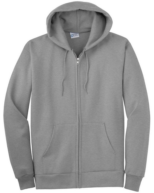 Port & Company PC90ZH Full Zip Hooded Sweatshirt