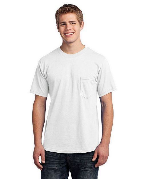 Port & Company USA100P All-American Tee with Pocket