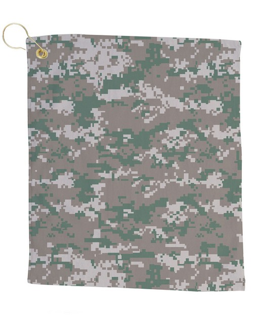 Pro Towels CAM18CG Small Camo Golf Towel