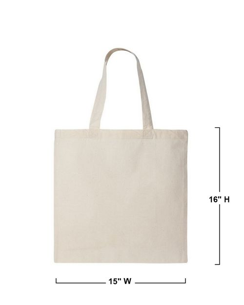Q-Tees QTB Economical Tote Bag