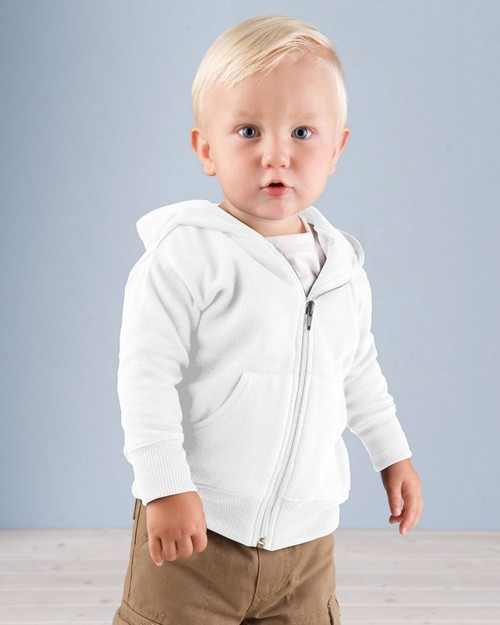 Rabbit Skins 3446 Infant Zip Sweatshirt with Hood