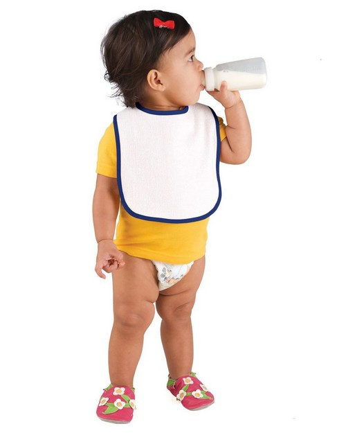 Rabbit Skins R1003 Infant Snap Bib