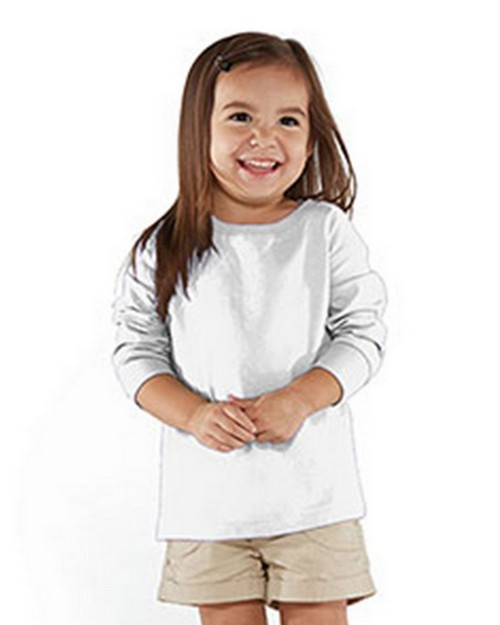 Rabbit Skins RS3302 Toddler Fine Jersey Long Sleeve T-Shirt