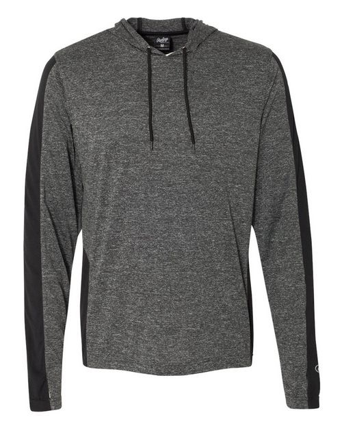 Rawlings 8199 Mens Performance Cationic Hooded Pullover T-Shirt