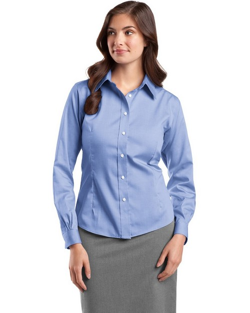Red House RH25 Ladies Non-Iron Pinpoint Oxford