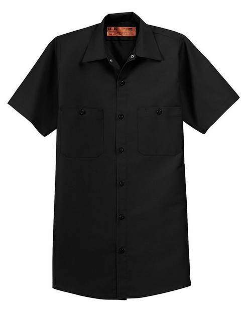 Red Kap SP24 Short Sleeve Industrial Work Shirt