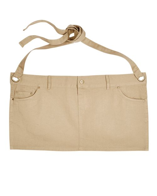 Artisan Collection RP133 Unisex Cotton Chino Waist Apron