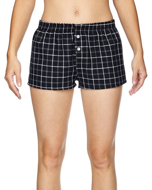 Robinson Apparel 5662 Juniors Flannel Short