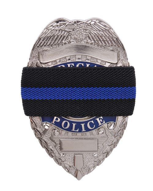 Rothco 1004 Thin Blue Line Mourning Band