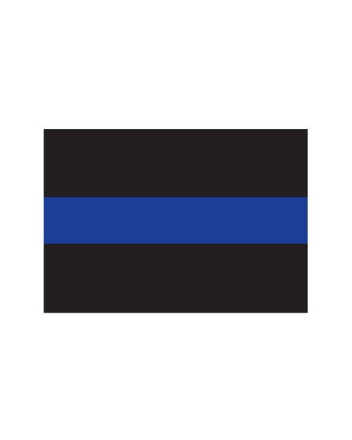 Rothco 1193 Thin Blue Line Decal