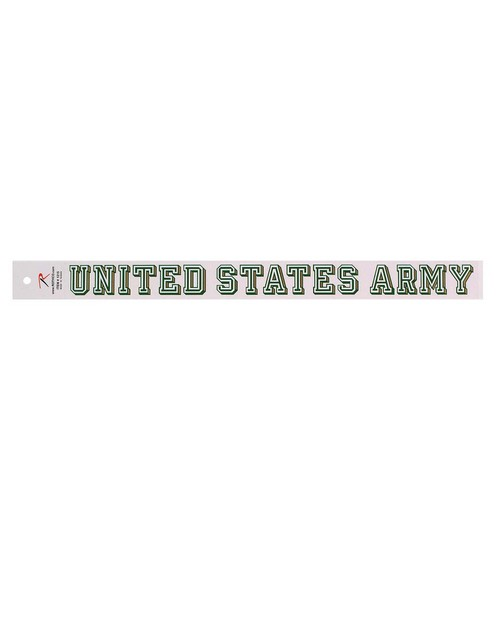 Rothco 1215 United States Army Decal