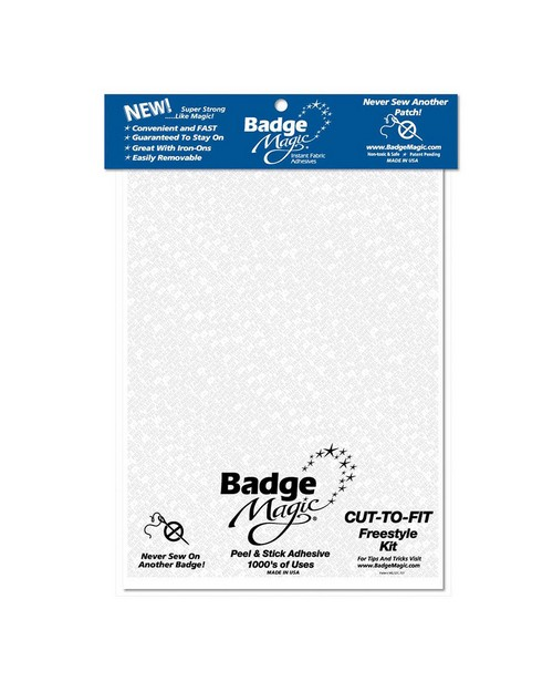Rothco 1284 Badge Magic Adhesive Cut To Fit Freestyle Kit