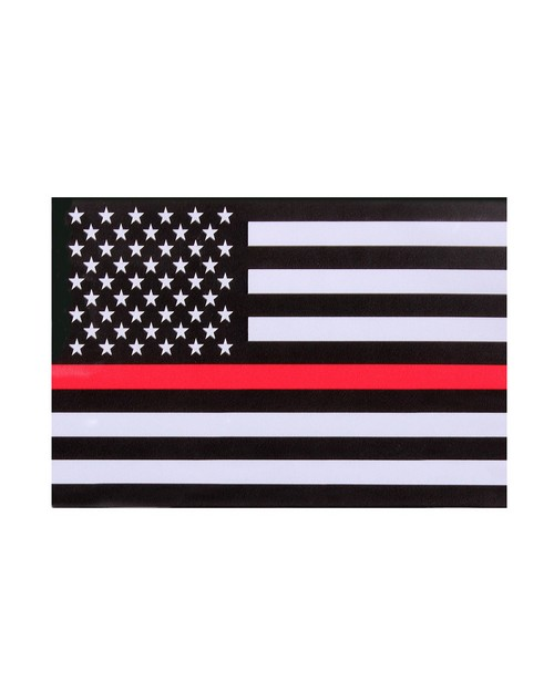 Rothco 1295 Thin Red Line Flag Decal