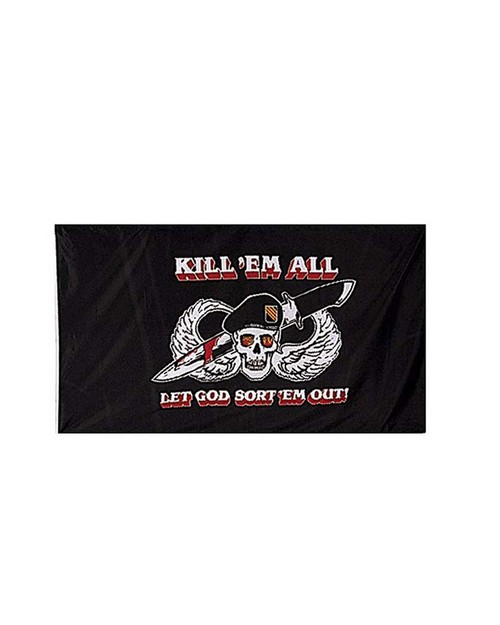 Rothco 1481 Kill Em All Flag