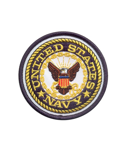 Rothco 1590 US Navy Round Patch
