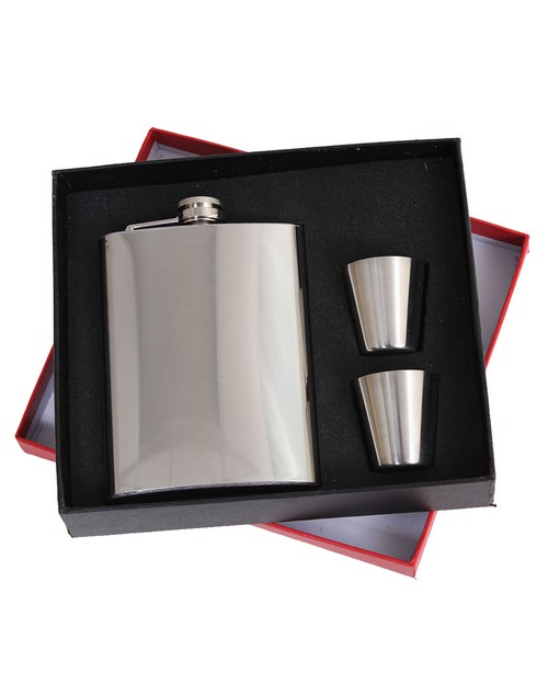 Rothco 16450 Stainless Steel Flask Gift Set
