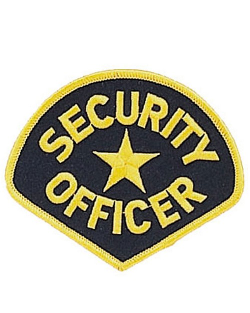 Rothco 1686 Security Officer Patch
