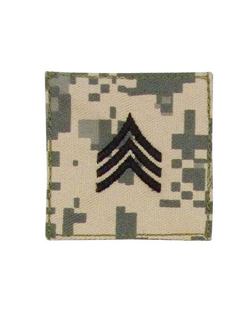Rothco 1762 Official U.S. Made Embroidered Rank Insignia - Sergeant