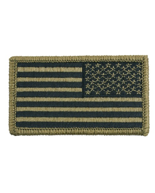 Rothco 17790 OCP American Flag Patch With Hook Back