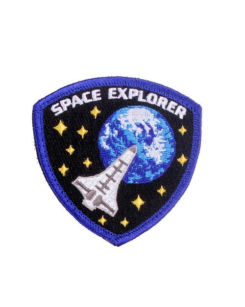 Rothco 1882 Space Explorer Morale Patch