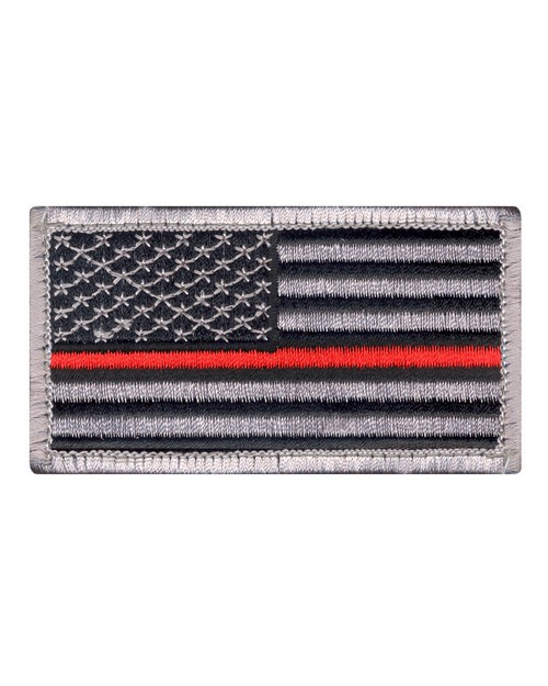 Rothco 18889 Thin Red Line US Flag Patch