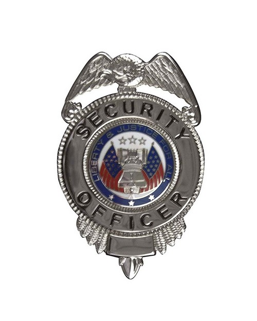 Rothco 1913 Security Officer Badge with Flags