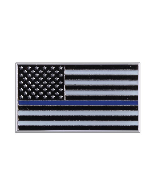 Rothco 1967 Thin Blue Line Flag Pin