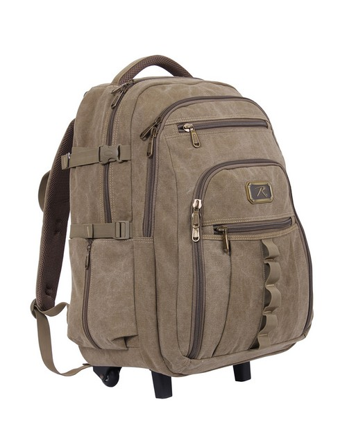 Rothco 20055 Rolling Canvas Backpack